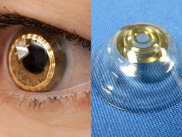 Вчені розробили біоміметичні контактні лінзи, які здатні збільшувати зображення за командою користувача