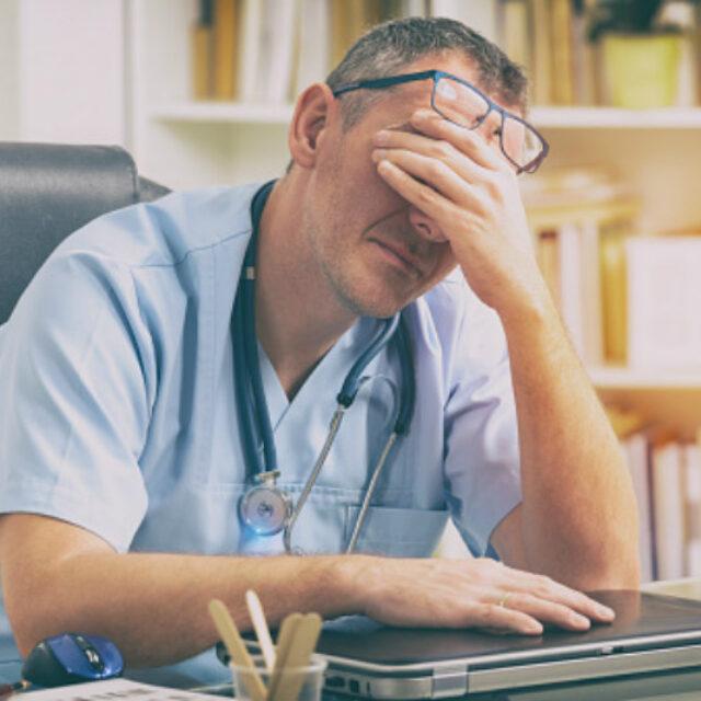 Шість головних факторів професійного вигорання лікарів